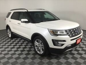 2017 Ford Explorer LIMITED-ACCIDENT FREE-AWD-NAVIGATION