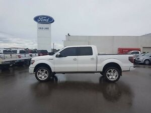 2011 Ford F-150 LIMITED, TAILGATE STEP, LEATHER, MOONROOF