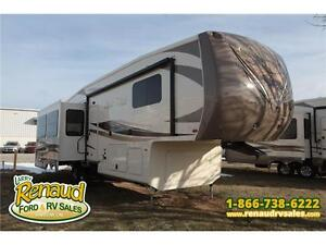 New 2016 Forest River Cedar Creek Hathaway Edition 34RL 5thWheel