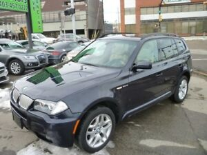 2007 BMW X3 3.0si M SPORT/PANO ROOF/ALLOYS