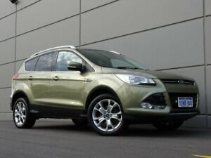 2013 Ford Kuga TF Trend AWD Green 6 Speed Sports Automatic Wagon Maddington Gosnells Area Preview
