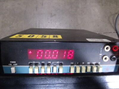 Data Precision Digital Multi-meter Model 2590