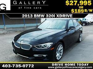 2013 BMW 320i xDrive $189 bi-weekly APPLY NOW DRIVE NOW
