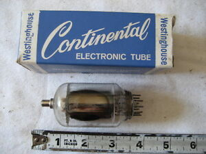 Westinghouse Continental Electronic Tube