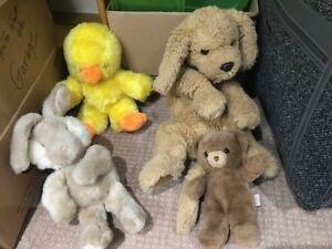 Vintage Gund Stuffed Animals 1976 1983 1984 1985