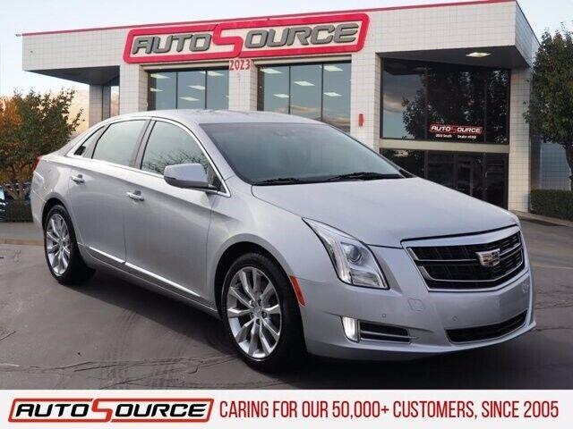 2017 Cadillac XTS Luxury 36333 Miles Radiant Silver Metallic 4dr Car Gas V6 3.6L