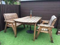 Real Oakwood Garden Furniture