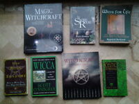 A Job lot of books about Witchcraft/ The Occult/ Spells/Astrology