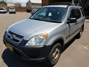 2004 Honda CR-V MY04 (4x4) Silver 4 Speed Automatic Wagon Georgetown Newcastle Area Preview
