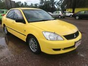 2007 Mitsubishi Lancer CH MY07 ES Yellow 5 Speed Manual Sedan Durack Palmerston Area Preview