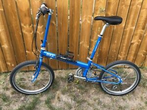 Bike Friday folding bike (with case for travel)- MINT condition!