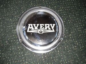 Avery weigh scale mirror, vintage