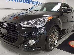 2015 Hyundai VELOSTER Turbo with NAV, sunroof, back up cam, heat