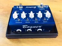 Bognor Ecstasy True Bypass Boost Function Blue Guitar Pedal