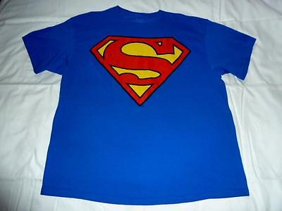 - Men XXL/2XL Blue Superman T Shirt 48