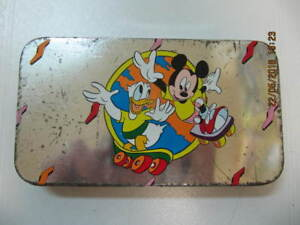 Classic Mickey Mouse Donald Duck Tin & 3 Mickey Watches 1970-80s