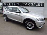 BMW X3 2.0 XDRIVE20D SE 5d 181 BHP (silver) 2014