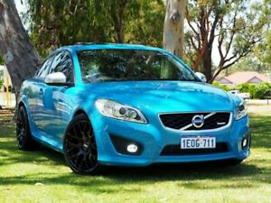 2012 Volvo C30 M Series MY12 T5 Geartronic R-Design Blue 5 Speed Sports Automatic Hatchback