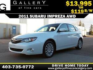 2011 Subaru Impreza AWD $119 bi-weekly APPLY NOW DRIVE NOW