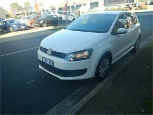 2013 Volkswagen Polo 6R MY13.5 Trendline White 7 Speed Auto Direct Shift Hatchback Burwood Whitehorse Area Preview