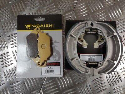 FRONT BRAKE PADS  REAR BRAKE SHOES FOR <em>YAMAHA</em> YBR 125 ED 51D2 2012