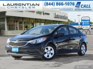 2015 Kia Forte LX - BLUETOOTH, CRUISE, 6-SPD MANUAL!!!