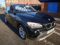 61 BMW X1D SDRIVE EFFICIENTDYNAMICS 5 DOOR DIESEL £30 A YEAR ROAD TAX