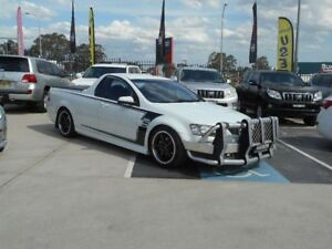 2007 Holden Commodore VE SV6 White 6 Speed Manual Utility