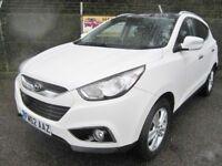 Hyundai ix35 1.7 Premium CRDi Turbo Diesel 2WD (white) 2013