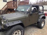 2001 Jeep TJ 4L 5 Speed