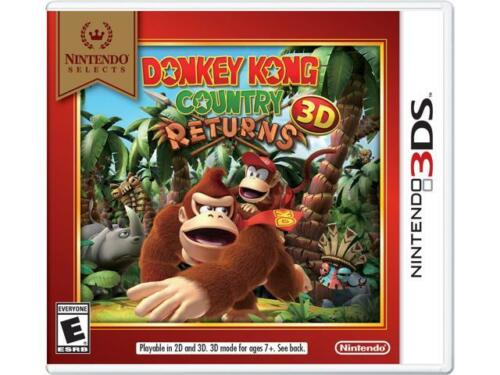 Nintendo Donkey Kong Country Returns 3d - Action/adventur...