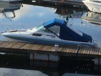 Invader 210 cuddy speed boat
