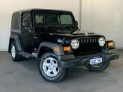 2004 Jeep Wrangler TJ MY2005 Renegade Black 6 Speed Manual Softtop Bayswater Bayswater Area Preview