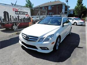 MERCEDES E350 2010 (AUTOMATIQUE BLUETOOTH AIR CLIMATISÉ)