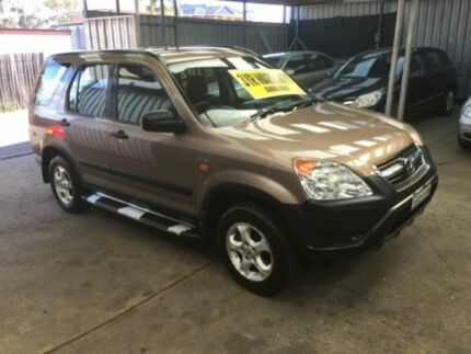 2004 Honda CR-V RD MY2004 Winter Classic Champagne 4 Speed Automatic Wagon Lidcombe Auburn Area Preview