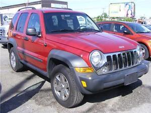 2007 Jeep Liberty 4X4 Only 108000KM, Like New.