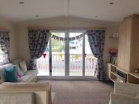 2 bed static caravan sited on naze marine with direct beach access, payment options available