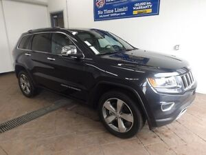 2016 Jeep Grand Cherokee Limited 4x4 LEATHER NAVI SUNROOF