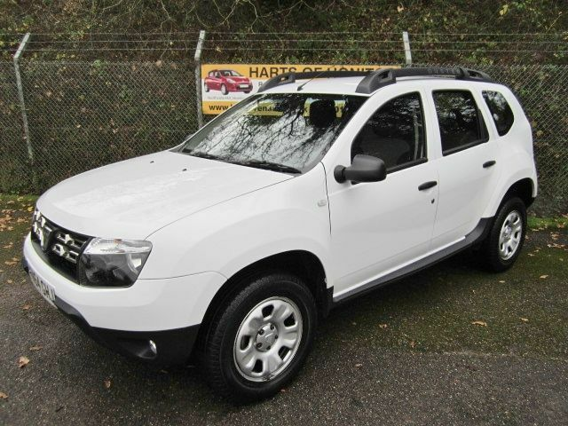 Dacia Duster 1.5 Ambiance DCi 110 Turbo Diesel 5DR 4x2 (white) 2014