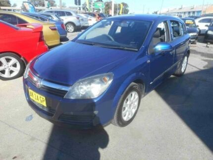2006 Holden Astra AH MY06 CD Blue 4 Speed Automatic Hatchback