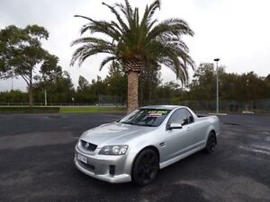2007 Holden Ute VE SV6 Silver 5 Speed Automatic Utility Cabramatta Fairfield Area Preview