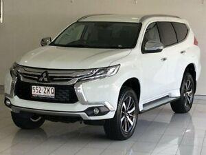 2019 Mitsubishi Pajero Sport QE MY19 GLS White 8 Speed Sports Automatic Wagon Ashmore Gold Coast City Preview