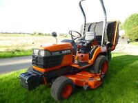 KUBOTA BX2200 COMPACT TRACTOR MOWER WITH COLLECTOR