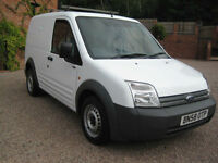 2008 58 Ford Transit Connect T200 SWB side loading door White