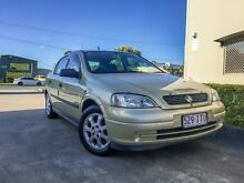 2005 Holden Astra TS MY05 Classic Equipe Gold 5 Speed Manual Sedan Brendale Pine Rivers Area Preview
