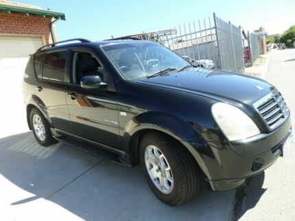 2006 Ssangyong Rexton Y220 II MY07 RX270 Limited Black 5 Speed Sports Automatic Wagon Mount Lawley Stirling Area Preview