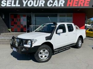 2011 Nissan Navara D40 Series 7 ST Utility Dual Cab 4dr Man 6sp 4x4 2.5DT (May) White Manual Utility Como South Perth Area Preview