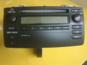 Radio TOYOTA COROLLA 2003  à 2008 model 86120-02270