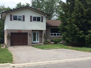 4 BR detached house for rent in downtown Whitby