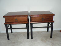 Hardwood Bed Side tables